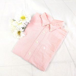 Abercrombie & Fitch Pink Button-down Shirt SZ S